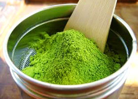 JAPANESE GREEN TEA POWDERS